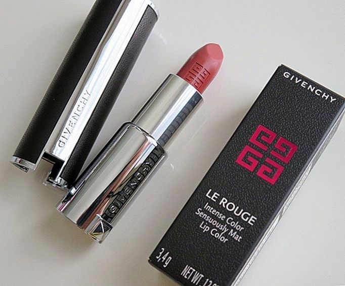 Givenchy # 104 Brun Cachemire Le Rouge Lipstick Review