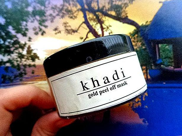 Khadi Gold Peel-Off Maske Review