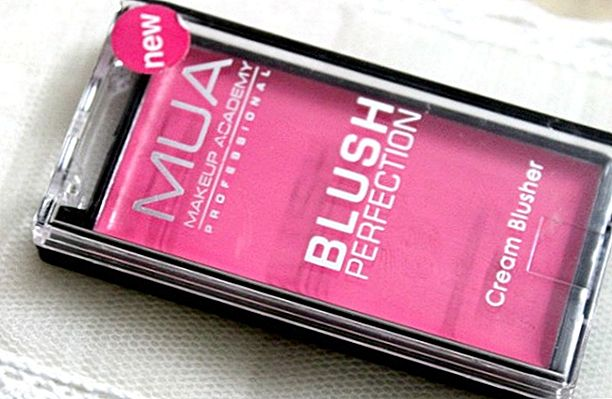 MUA Blush Perfection Cream Blush - Exuberante