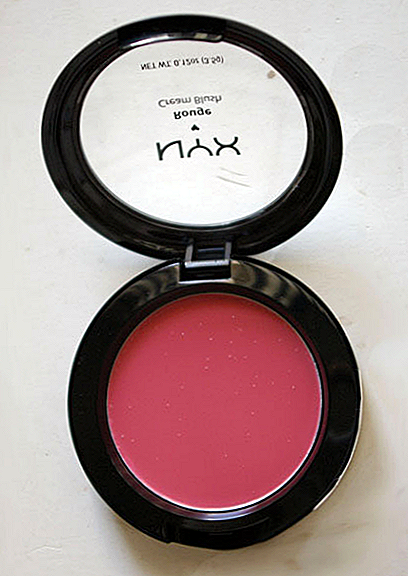 NYX Rouge Cream Blush v Glow Recenzii