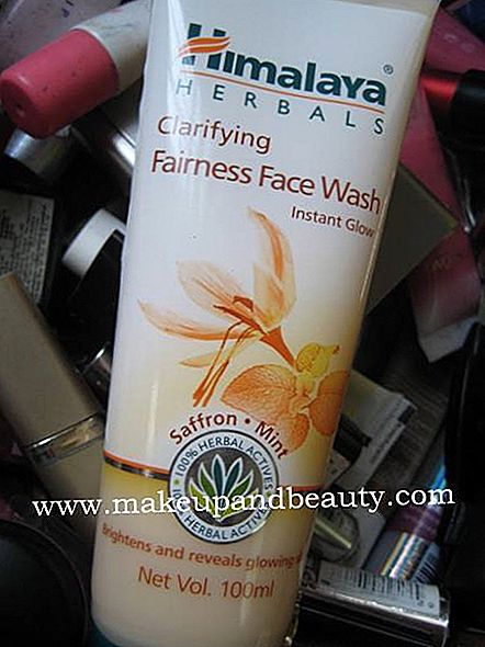 Himalaya Herbals Klärung Fairness Face Wash mit Safran Mint Review
