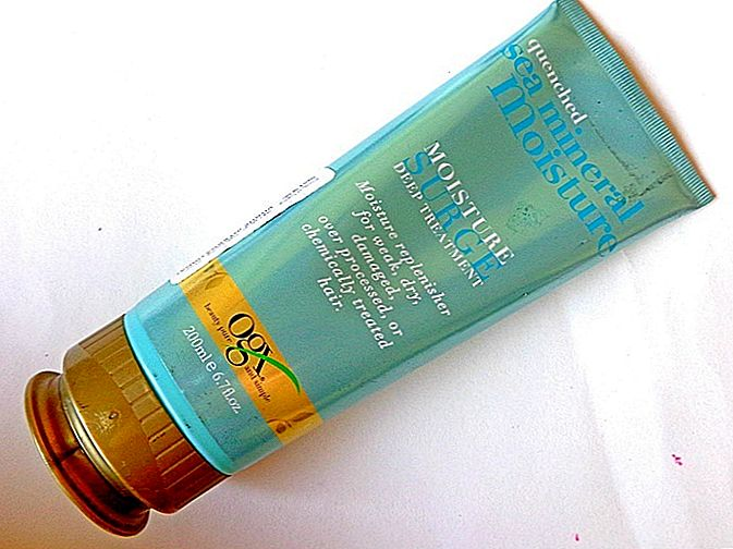 Organix Quenched Sea Mineral Moisture Surge Deep Treatment Review