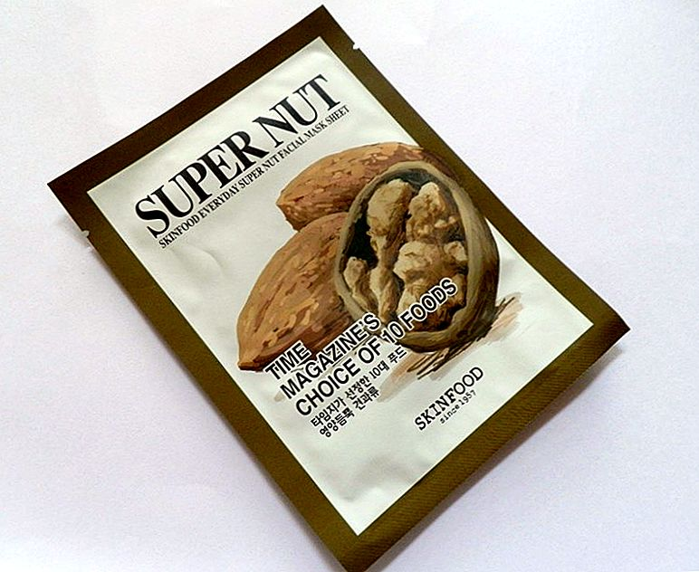 SkinFood Everyday Super Nut Facial Mask Review