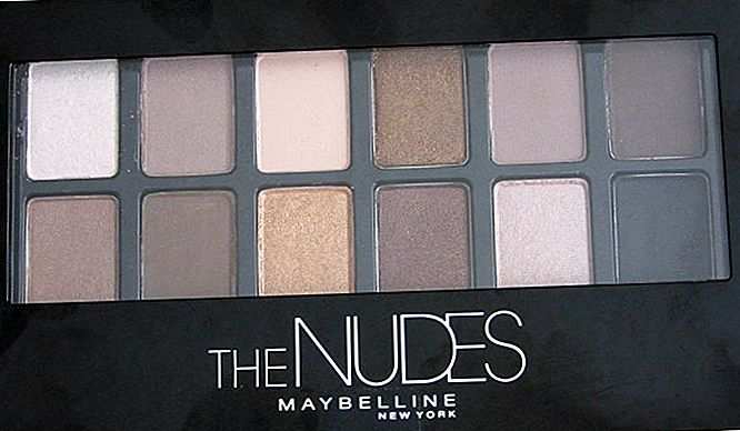 Maybelline The Nudes Lidschattenpalette Review