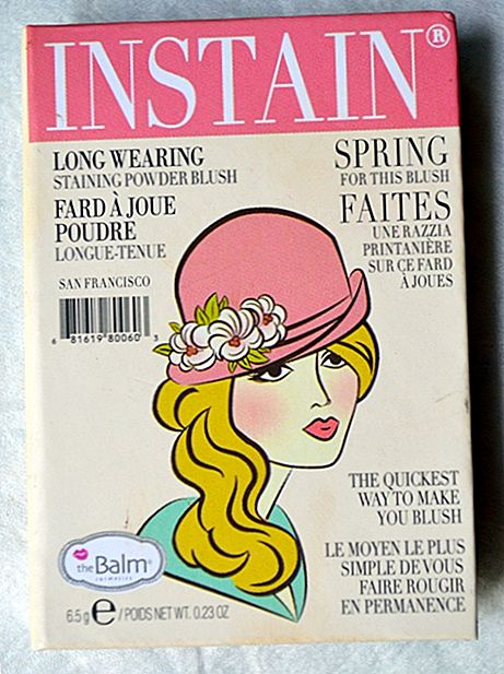 TheBalm Instain Long Staining Puder Erröten - Argyle Review