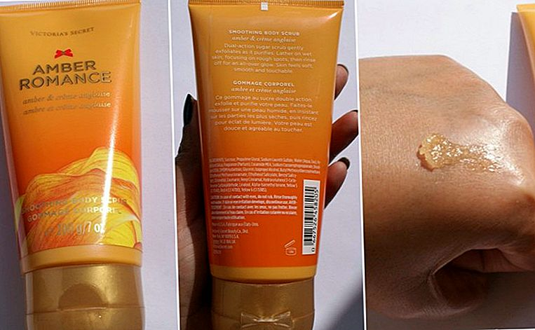 Victoria's Secret Amber Romance Suavização Scrub Body Review