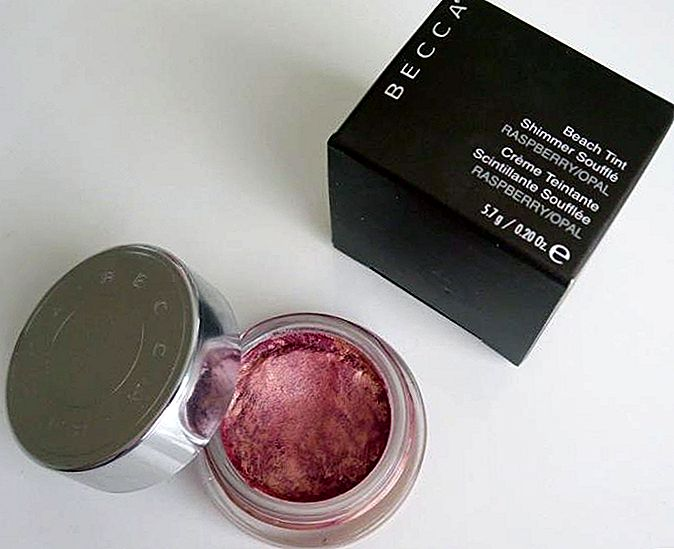 Becca Himbeer / Opal Strand Tint Shimmer Souffle Bewertung