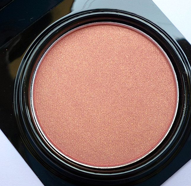 Elizabeth Mott Peach Pink Show Me Your Cheeks Powder Blush Review