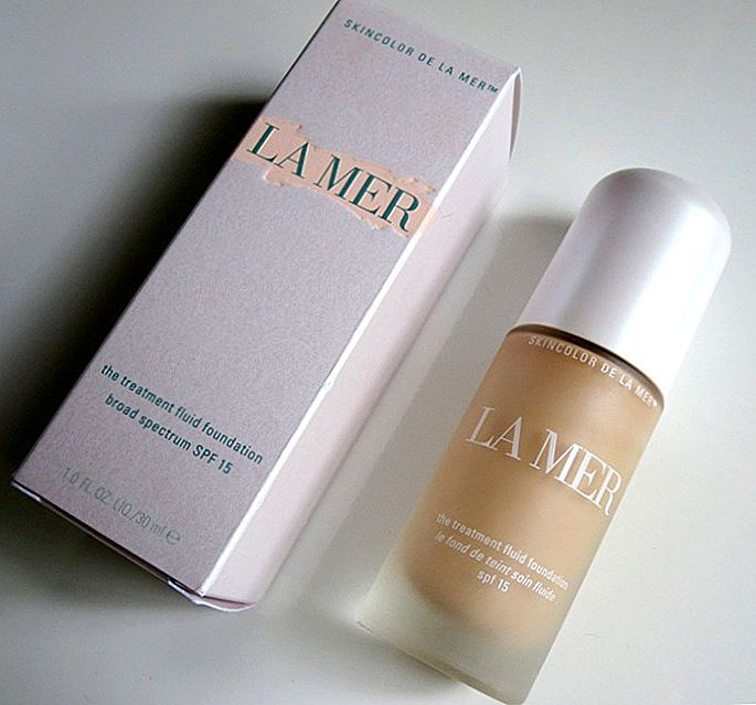 La Mer The Treatment Fluid Foundation Broad Spectrum SPF 15 Review